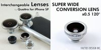 SUPER WIDE CONVERSION LENS x0.5 120°