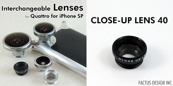 Photo1: CLOSE-UP LENS 40