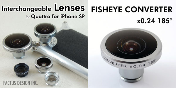 Photo1: FISHEYE CONVERTER x0.24 185°