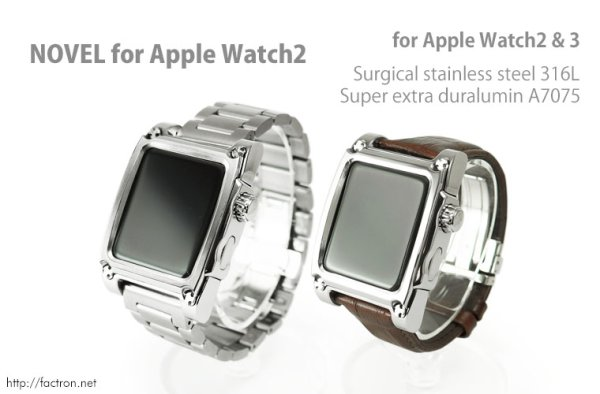Photo1: Novel for AppleWatch2  Apple Watch Series2 42mm