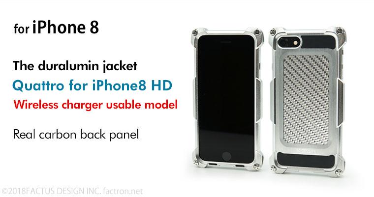 Photo1: Quattro for iPhone8 HD