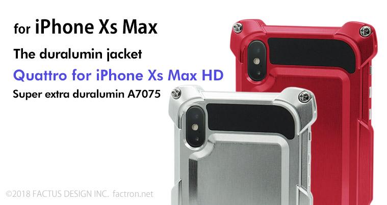 Photo1: Quattro for iPhone Xs Max HD