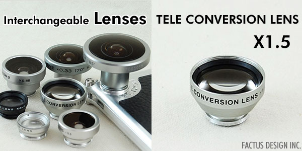 Photo1: TELE CONVERSION LENS X1.5